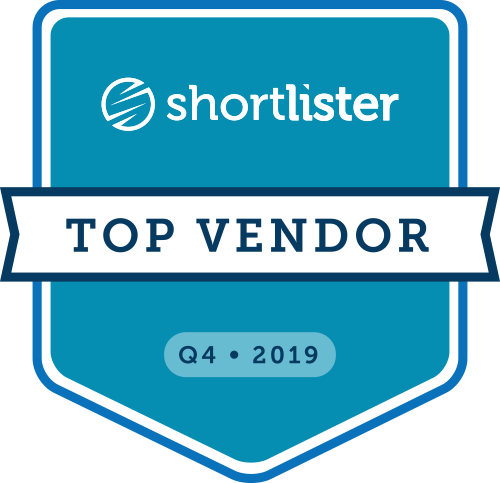 Shortlister Top Vendor: Q4 2019
