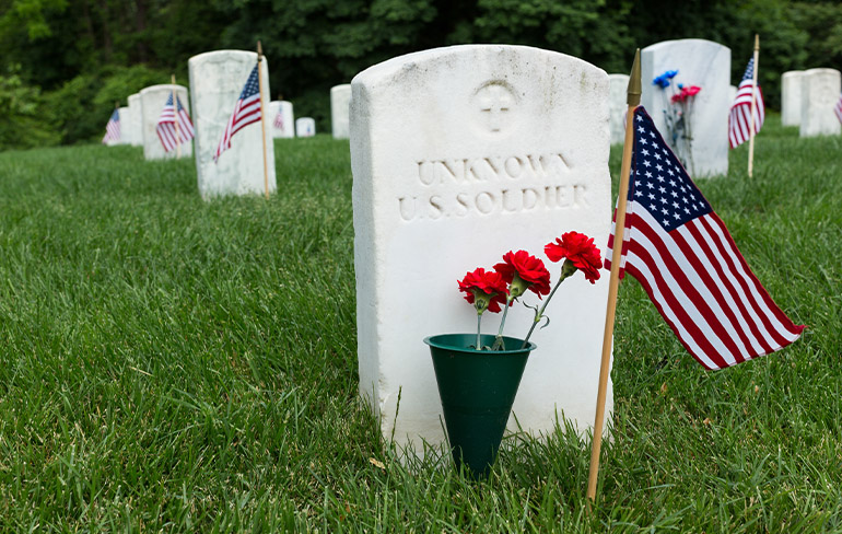 Memorial Day: Remembered But Never Forgotten