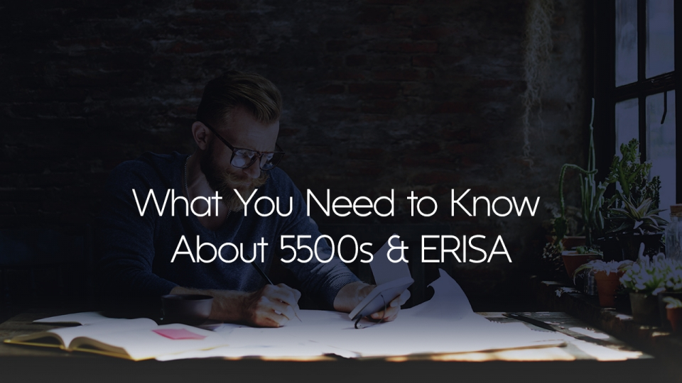 Preview image for The Basics of 5500s & ERISA