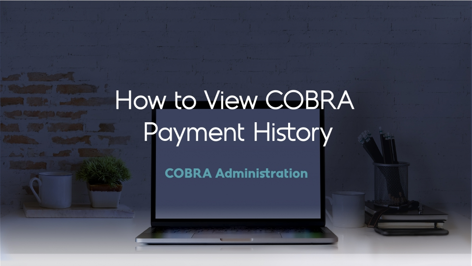 Preview image for How to View COBRA Payment History